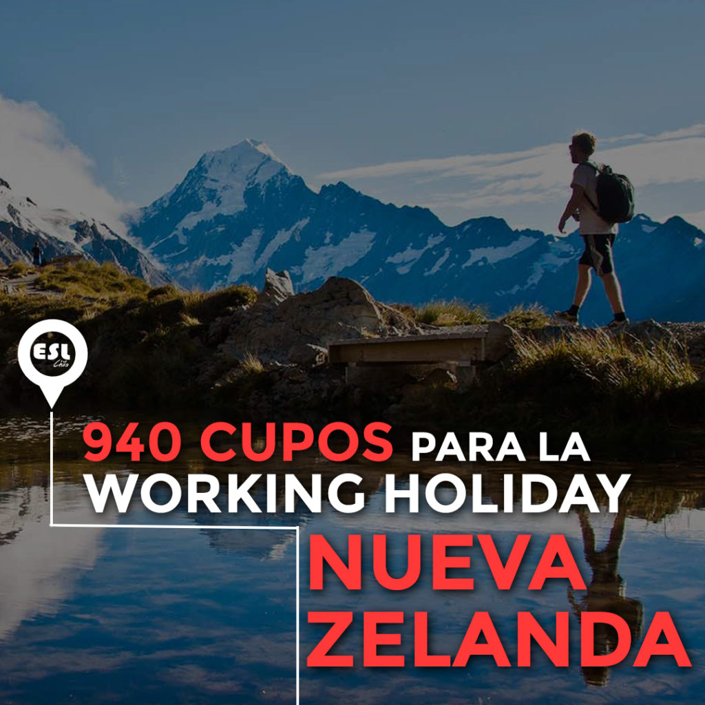 Visa Working Holiday: se abren 940 cupos de postulación para Nueva Zelanda